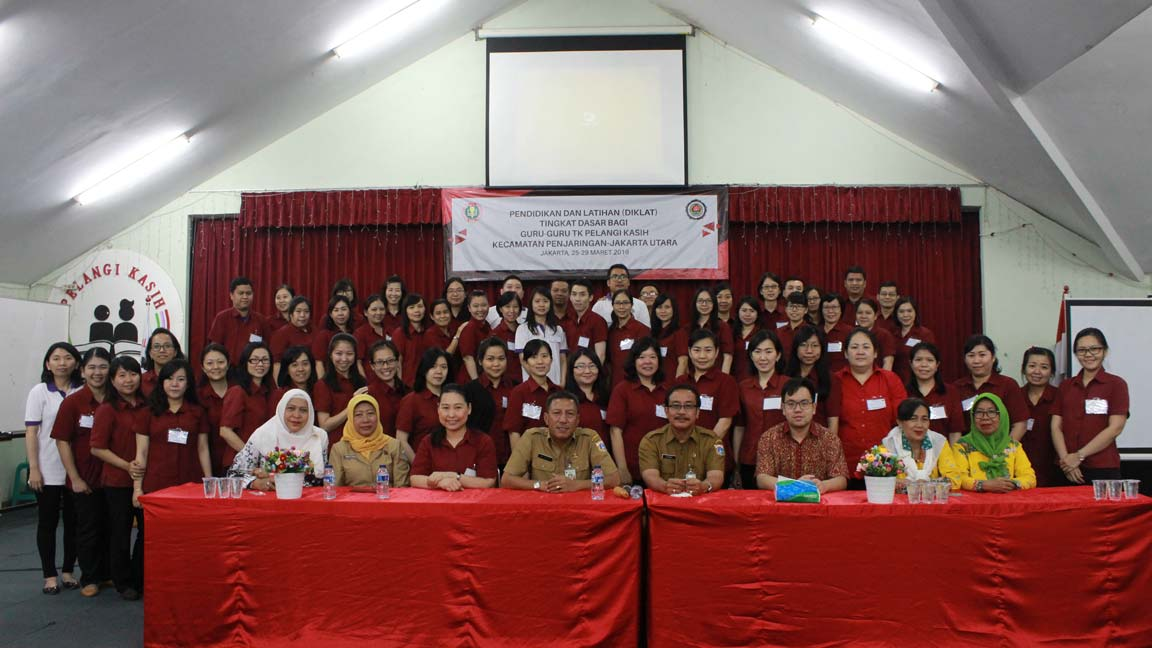 The Basic Level Education and Training for Pelangi Kasih Pre-School and Kindergarten Teachers